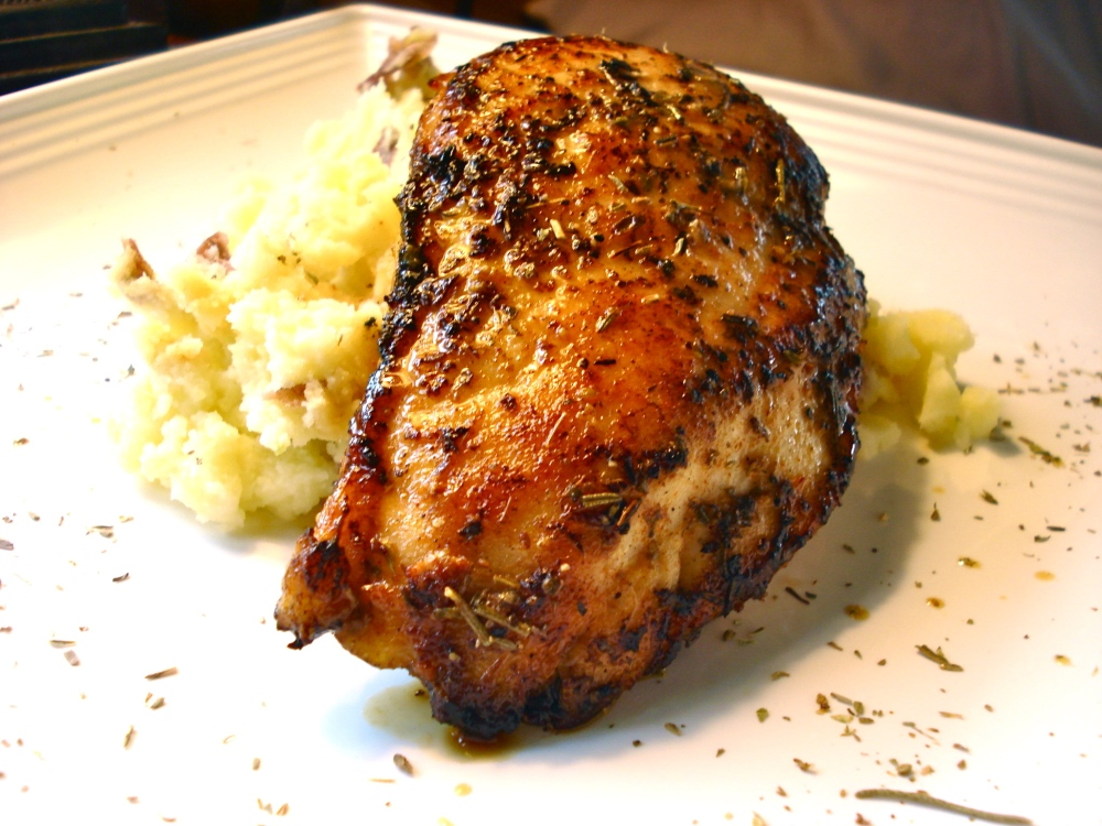 Pan-Seared Chicken Breasts (1/6)